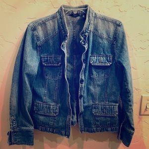 Mossimo Vintage Wash Jean Jacket Jr. XL